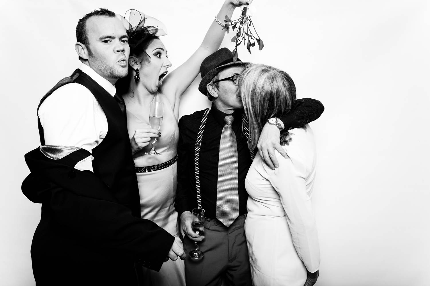 Photo Booth White Backdrop