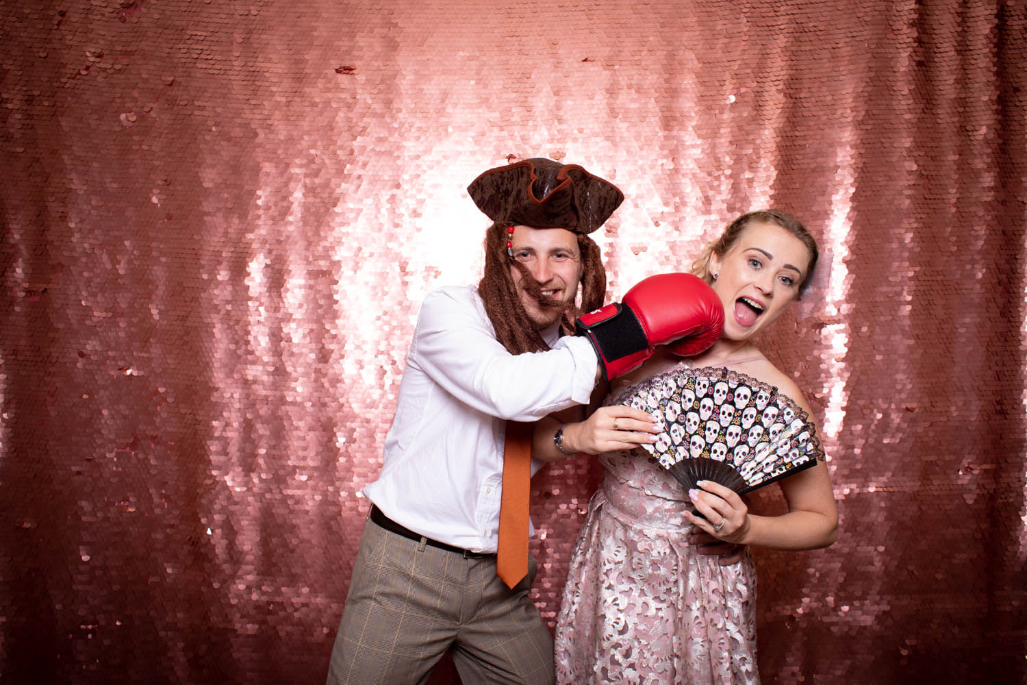 Rose Gold Photo Booth Backdrop
